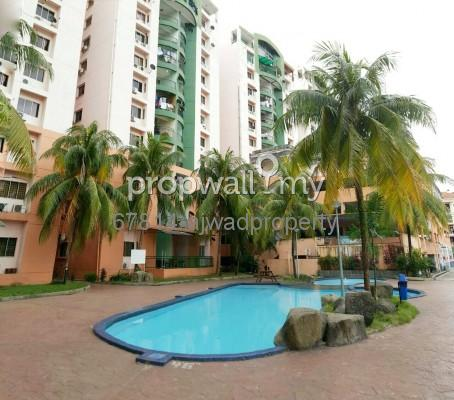 Condominium For Sale At City Garden Palm Villa Pandan For