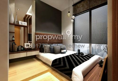 Condominium for rent at maytower dang wangi for rm 1 rm psf by angeline chew Master bedroom reno ideas