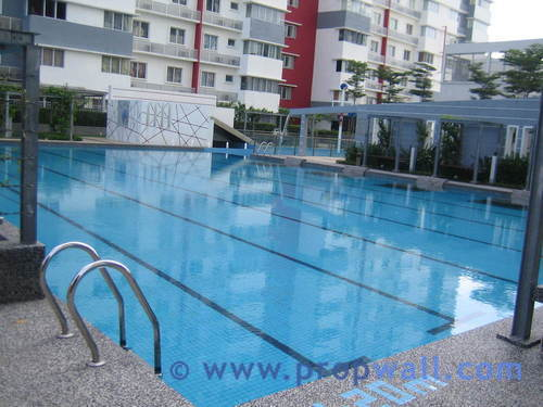 Condominium for sale at koi kinrara bandar puchong jaya for Koi kinrara swimming pool