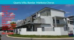 Quartz Villa, Bandar Mahkota Cheras