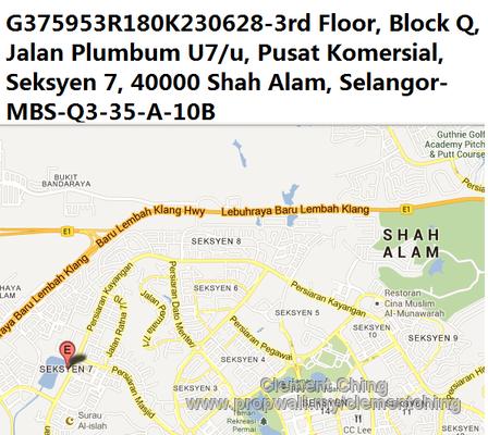 Condominium For Sale at Section 7 Shah Alam For RM 230 000 00 RM 287 50. Jalan Plumbum V7v   creatopliste com