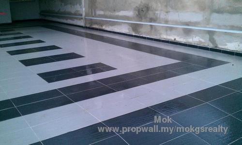 Car porch floor tiles