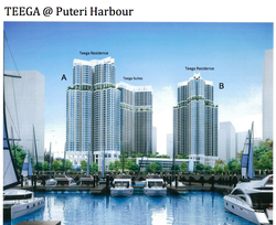 Teega, Puteri Harbour photo by NUSAJAYA