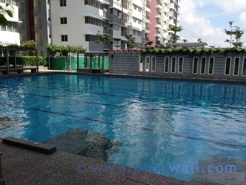 Condominium for rent at koi kinrara bandar puchong jaya for Koi kinrara swimming pool