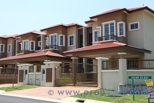 Garden City Homes Seremban 2 Propwall