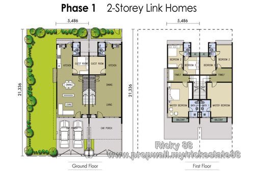 M residence rawang propwall for X2 residency floor plan
