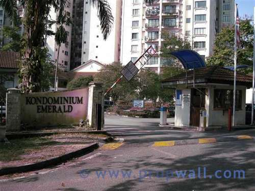 Condominium for sale at emerald hill ampang for rm for Iron gate motor condos for sale