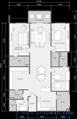x2 residency puchong propwall On x2 residency floor plan