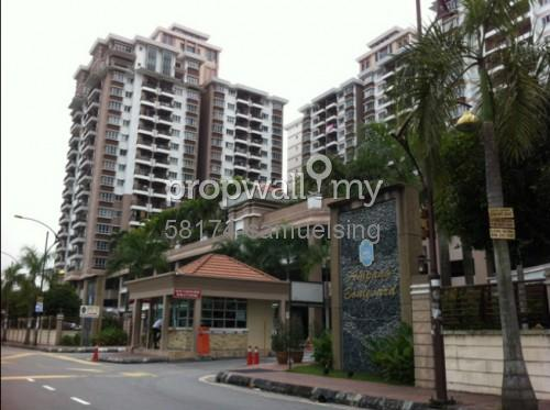 Condominium for rent at ampang boulevard ampang for rm for Kitchen cabinets college point blvd