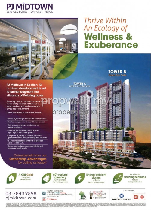Pj Midtown Petaling Jaya Condominium For Sale By