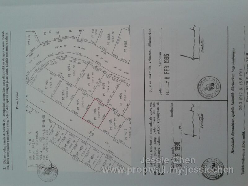 Rasah kemayan seremban 2 land for sale by jessie chen propwall rasah kemayan seremban 2 ccuart Gallery