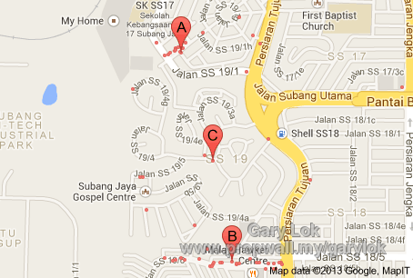 SS19 Subang Jaya House For Rent by Gary Lok Propwall Malaysia